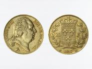 Frankreich 20 Fr. Louis XVIII 1817 (A) Paris