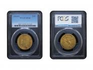 USA 10 Dollars Gold Indian Head 1910 S, Slab (PCGS XF40)