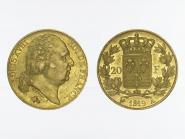 Frankreich 20 Fr. Louis XVIII 1819 (A) Paris