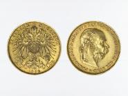 Österreich 20  Kronen/Corona 1892
