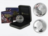 Australien 1/2$ Bush Babies Bilby 2011, 1/2 oz  Silber