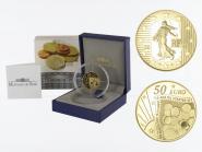 Frankreich 50 Euro Gold, 2011,  Säerin