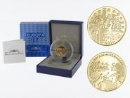 Frankreich 50 Euro Gold, 2011,  Europa Musik