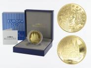 Frankreich 200 Euro Gold, 2010, Europa Abbey de Cluny