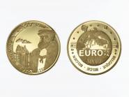 Belgien 5000 Francs Gold, Kaiser Karl V.  2000, original