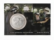 Australien 5$ Kookaburra 1990 Blister, 1 oz  Silber