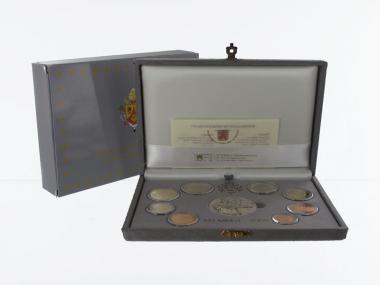 Vatikan original KMS, 2006 PP, Polierte Platte
