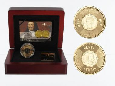Niederlande 10 Euro Gold, 2007, M.A. de Ruyter,