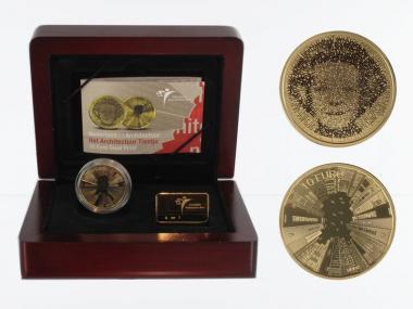 Niederlande 10 Euro Gold, 2008, Architektur,