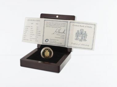 Malta 50 Euro Gold, 2008, Auberge de Castille,