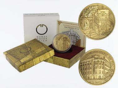 Österreich 100 Euro Gold, 2007, Linke Wienerzeile,
