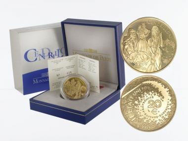 Frankreich 20 Euro Gold, 2002, Cindarella