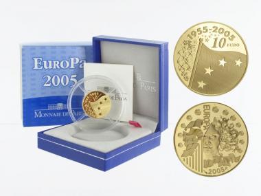 Frankreich 10 Euro Gold, 2005,  Europa