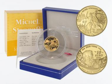 Frankreich 10 Euro Gold, 2006,  Jules Verne - Strogoff