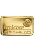 10 Gramm Goldbarren 999,9 Feingold Folie