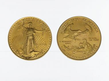 USA 25 Dollar 1/2 oz American Gold Eagle