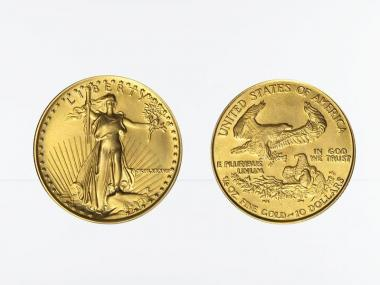USA 10 Dollar 1/4 oz American Gold Eagle