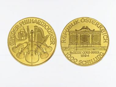 Österreich 1/2 oz Wiener Philharmoniker