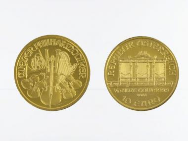 Österreich 10 Euro 1/10 oz Wiener Philharmoniker