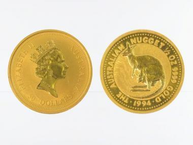 Australien 50 $ Nugget Känguru, 1/2 Unze  1994