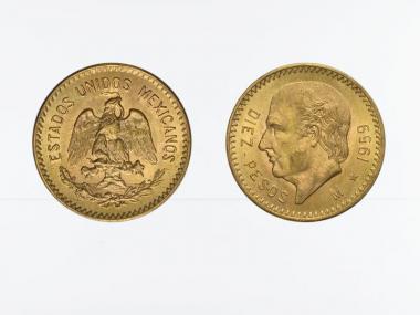 Mexiko  10 Pesos Hildalgo,