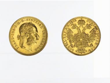 Österreich 1 Gold Dukat 1915