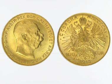 Österreich 100  Kronen/Corona 1915