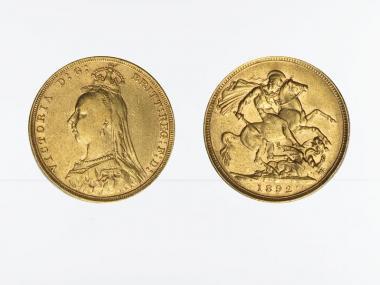 Victoria Jubilee/Reiter 1892
