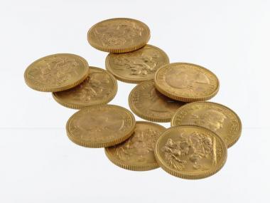 GB 1 Pf. Sovereign (10x)