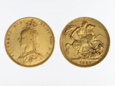 Victoria Jubilee/Reiter 1889