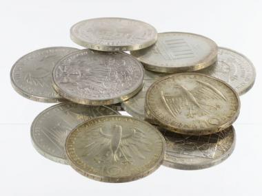 BRD 10 DM Gedenkmünzen 1972-97 (10)