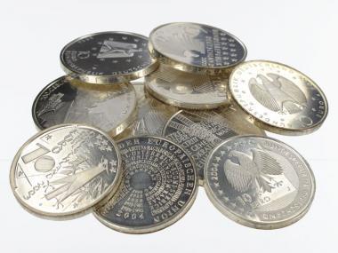 BRD 10 Euro Gedenkmünzen  (10)