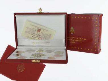 Vatikan original KMS, 2008 PP, Polierte Platte