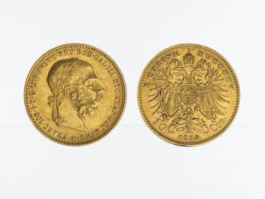 Österreich 10  Kronen/Corona 1905