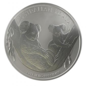 Australien 30$ Koala 2011, 1 Kilo Kg  Silber, Neu