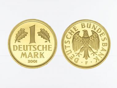 1 DM Goldmark 2001 G, Goldmark original