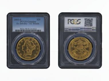 USA 20 Dollars Gold Eagle/Kopf 1893 S