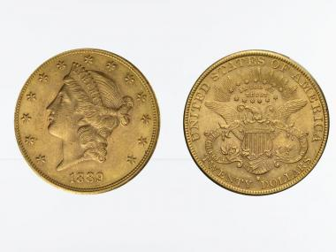 USA 20 Dollars Gold Eagle/Kopf 1889 S
