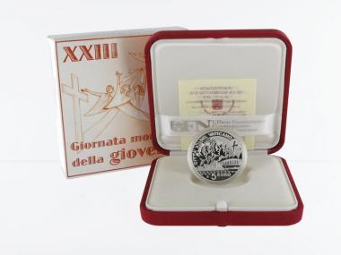 Vatikan 5 € Weltjugendtag 2008 PP, Silber