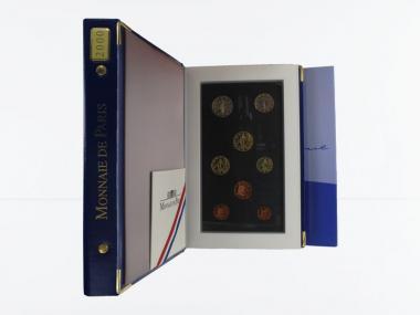 Frankreich original KMS, 2000 PP, Polierte Platte