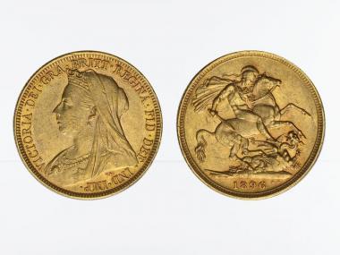 Victoria Old/Reiter  1896 M (Melbourne Australien)