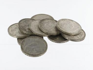 3. Reich 2 Reichsmark 1936-39 (10)