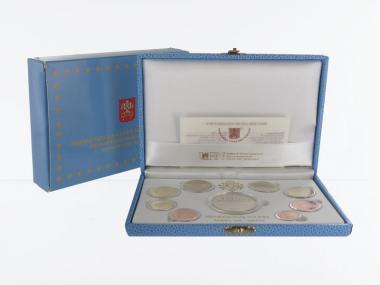Vatikan original KMS, 2012 PP, + Silbermünze