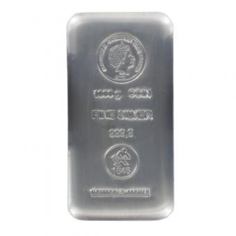 Cook Islands 30 $. 1 Kg Silber