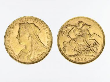 Victoria Old/Reiter  1900 M (Melbourne Australien)