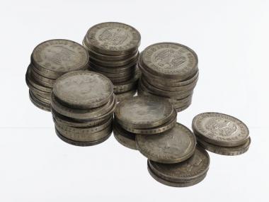 3. Reich 5 Reichsmark 1934-39 (50)