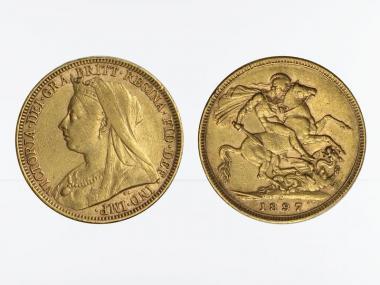 Victoria Old/Reiter  1897 M (Melbourne Australien)