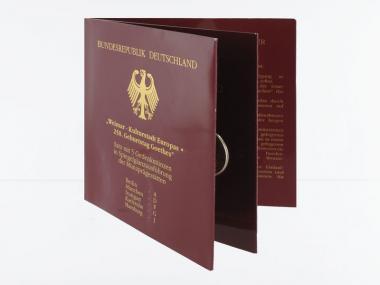 Weimar Kulturstadt (5) A D F G J kpl. PP, Blister