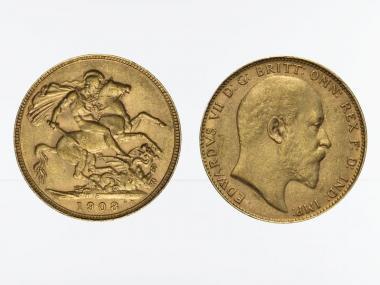 Edward VII/Reiter 1908 P
