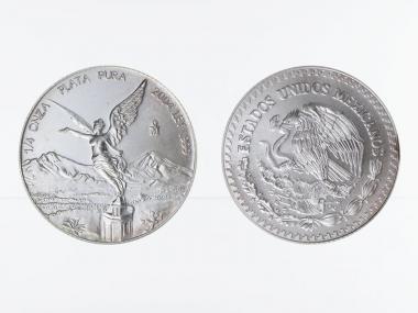 Mexiko Libertad, ab 1996, 1/4 oz Silber